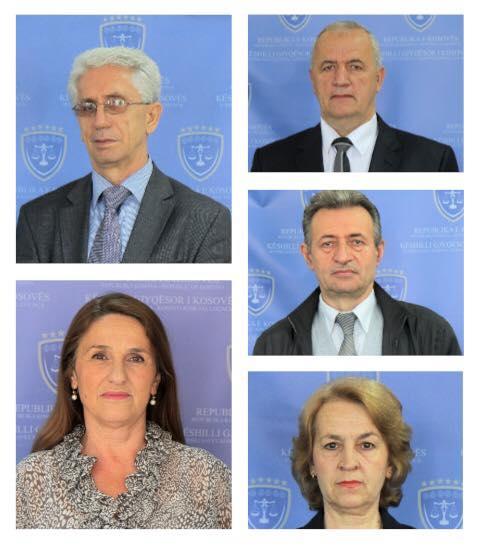 Pesë gjyqtarë të Gjykatës së Apelit e arrin moshën e pensionimit